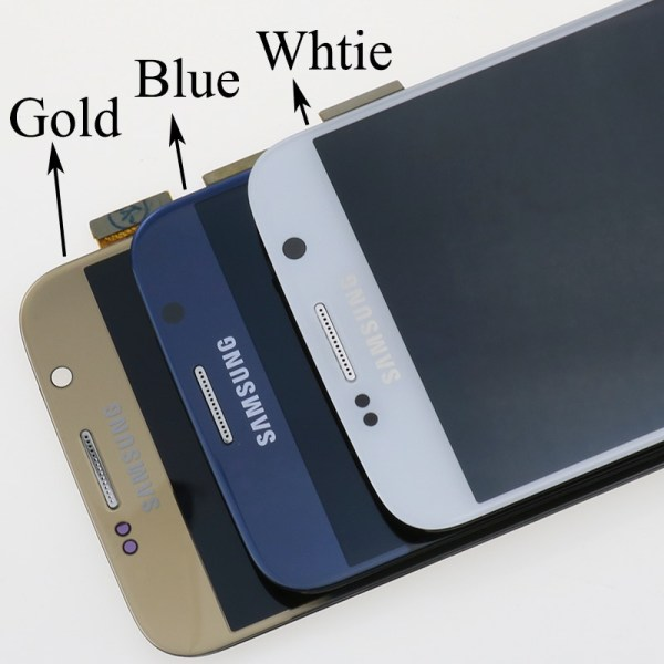 ORIGINAL 5 1 Super AMOLED Replacement LCD S6 for SAMSUNG GALAXY S6 G920 SM G920F G920F 2 ORIGINAL 5.1'' Super AMOLED Replacement LCD S6 for SAMSUNG GALAXY S6 G920 SM-G920F G920F G920FD Touch Screen Digitizer Assembly