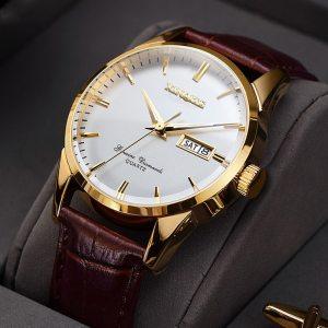 XINQITE Official Men Watches 2019 brand luxury Quartz Watches Fashion Genuine Leather Waterproof Watch for gentleman Innrech Market.com