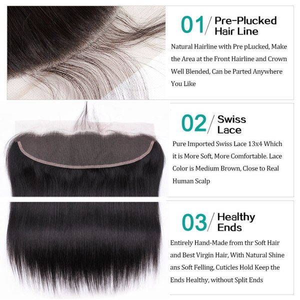 Brazilian Straight Hair Lace Frontal With Hair Weave Bundles Human Hair Extension Bundles With Frontal Non 2 Brazilian Straight Hair Lace Frontal With Hair Weave Bundles Human Hair Extension Bundles With Frontal Non Remy Fashion Queen