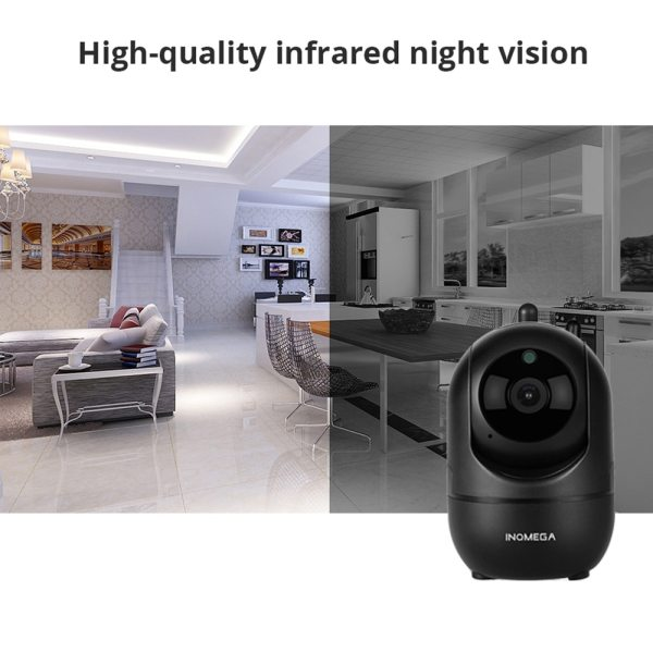 INQMEGA HD 1080P Cloud Wireless IP Camera Intelligent Auto Tracking Of Human Home Security Surveillance CCTV 3 INQMEGA HD 1080P Cloud Wireless IP Camera Intelligent Auto Tracking Of Human Home Security Surveillance CCTV Network Wifi Camera
