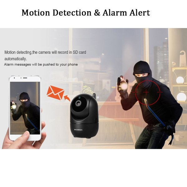INQMEGA HD 1080P Cloud Wireless IP Camera Intelligent Auto Tracking Of Human Home Security Surveillance CCTV 4 INQMEGA HD 1080P Cloud Wireless IP Camera Intelligent Auto Tracking Of Human Home Security Surveillance CCTV Network Wifi Camera