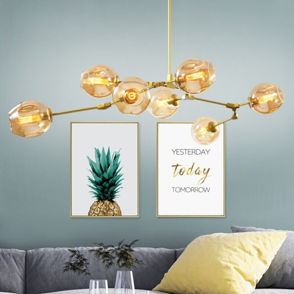 Nordic Industrial Style LED Ceiling Lights Glass Ceiling Lamp Restaurant Hanging Lamp Living Room Lamp Bedroom 1 Nordic Industrial Style LED Ceiling Lights Glass Ceiling Lamp Restaurant Hanging Lamp Living Room Lamp Bedroom Cafe