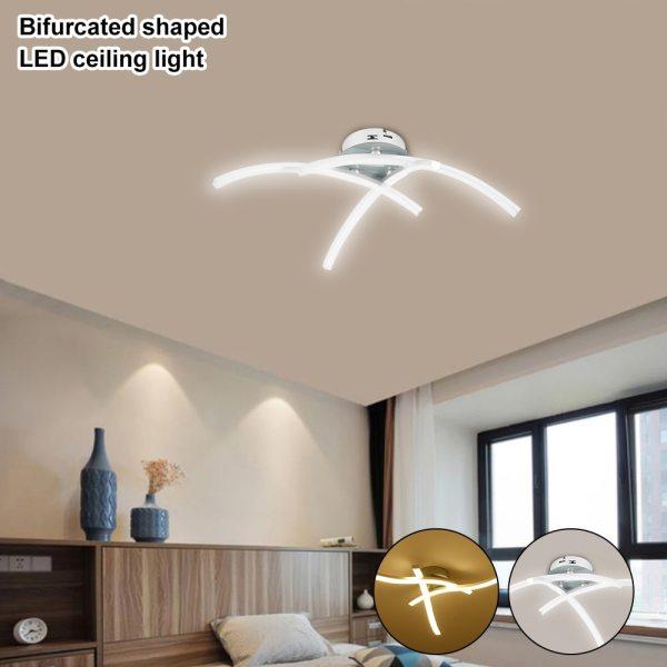 Strange LED Ceiling Lights Fork Embedded 21W 3000K White Warm White Home Lighting Living Room Bedroom Strange LED Ceiling Lights Fork Embedded 21W 3000K White/Warm White Home Lighting Living Room Bedroom Decor Lamp
