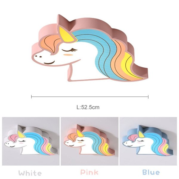 Unicorn kids room light led ceiling lights with remote control cartoon lampshade children room cute ceiling 5 Unicorn kids room light led ceiling lights with remote control cartoon lampshade children room cute ceiling lamp deco child room