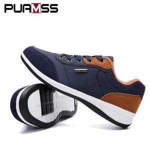 2019 Autumn New Men Shoes Lace Up Men Fashion Shoes Microfiber Leather Casual Shoes Brand Men Innrech Market.com