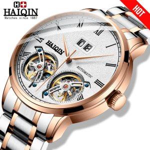 HAIQIN Men s watches Mens Watches top brand luxury Automatic mechanical sport watch men wirstwatch Tourbillon Innrech Market.com
