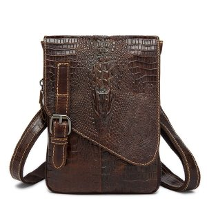 Men Crocodile Classic Briefcase Genuine Leather Business Office Ipad Bag Lawyer Handbag Portfolio Satchel Alligator Shoulder Innrech Market.com