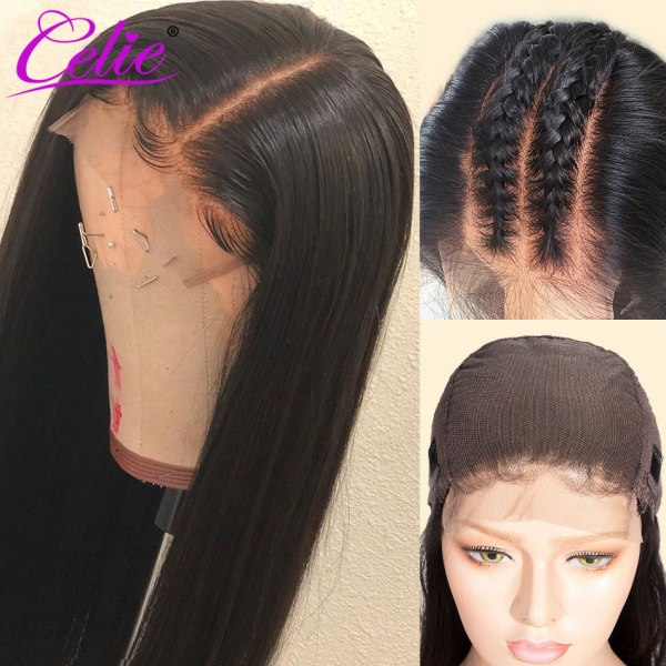 Celie Straight 6x6 Lace Closure Wig Human Hair Wigs 180 Density Brazilian Human Hair Lace Wigs 3 Celie Straight 6x6 Lace Closure Wig Human Hair Wigs 180 Density Brazilian Human Hair Lace Wigs Straight Lace Closure Wig