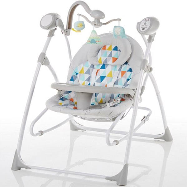 Electric baby rocking chair with baby comforter baby cradle sleeping recliner child shaker dinner plate multifunctional Electric baby rocking chair with baby comforter baby cradle sleeping recliner child shaker dinner plate multifunctional