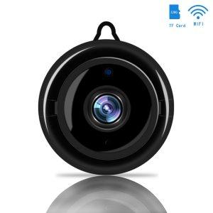 Mini Wireless WIFI IP Camera Smart Home Security Infrared Night Vision Surveillance Camera SD Card Cloud Innrech Market.com