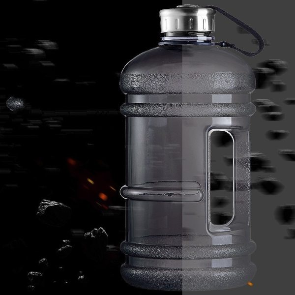 Soffe 2 2L Large Capcity 1 2 Gallon Water Bottle Bpa Free Shaker Protein Plastic Sport 5 Soffe 2.2L Large Capcity 1/2 Gallon Water Bottle Bpa Free Shaker Protein Plastic Sport Water Bottles Handgrip Gym Fitness Kettle