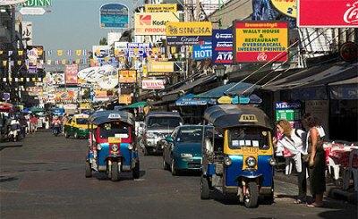 Chinatown a Bangkok