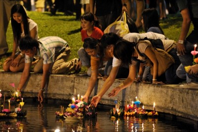 loi kratong - festival thailandia