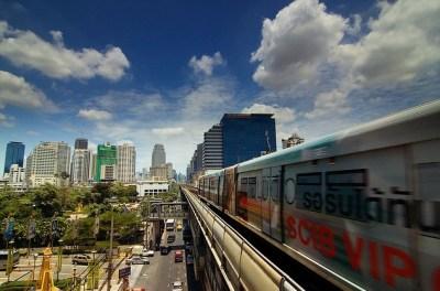 skytrain di bangkok - mezzi di trasporto