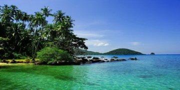 Spiaggia nord ovest di Koh Mak