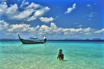 mare e spiagge della Thailandia - snorkeling a Koh Samet