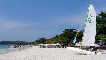 Wind surf a Koh Samet