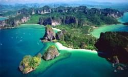 offerte vacanze innviaggi.com - arrivo in thailandia - veduta aerea Krabi