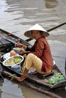 Ristorante galleggiante del Vietnam