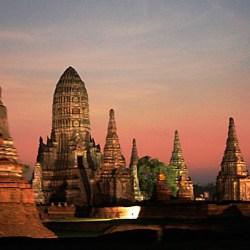 Ayutthaya wat tanaram