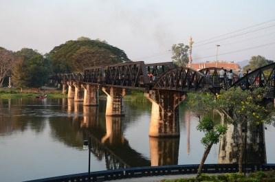 Guide in italiano Thailandia, ponte sul fiume Kwai.