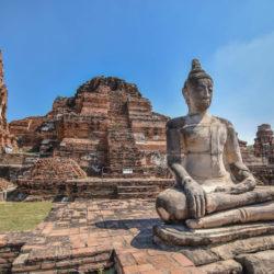 La bellezza di Ayutthaya, esempio del Siam antico.