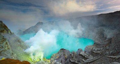 lago Kawah Ijen java indonesia