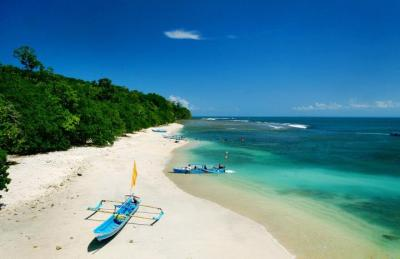 Spiaggia di Pangadaran isola di Java Indonesia