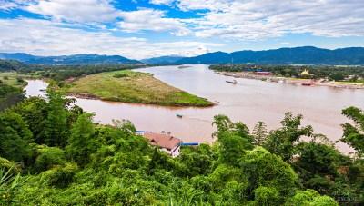 la regione del triangolo d'oro in thailandia