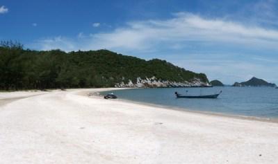 Hat Laem Sala, splendida spiaggia in Thailandia