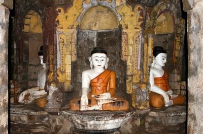 Andaw Pagoda templi di mrauk u myanmar birmania