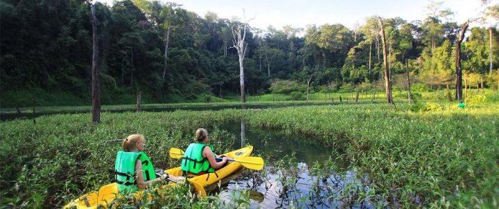 parco nazionale di khao sok thailandia escursione in canoa