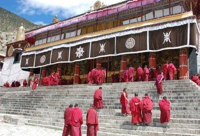 collegio gomang monastero tibet