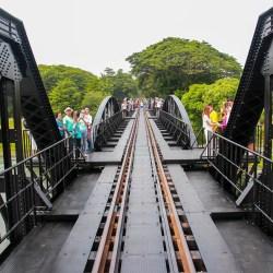 kanchanaburi ponte sul fiume Kwai