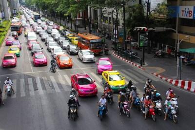 Come noleggiare automobili in Thailandia