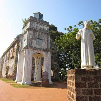 La chiesa di St Paul a Malacca – Malesia