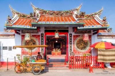 L'ingresso del Cheng Hoon Teng Temple - Malesia