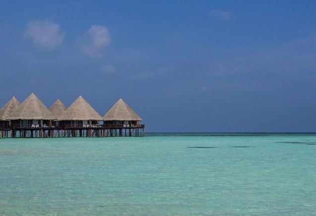 Una fantastica isola nell'Atollo di Ari