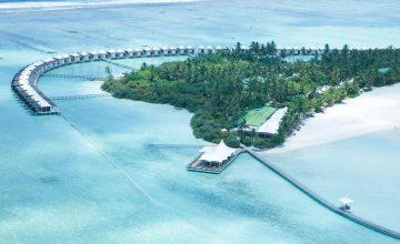Uno splendido resort nell'atollo di Meemu