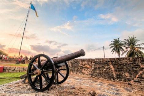 Il cannone di Seri Rembai, nel Fort Cornwallis - Penang