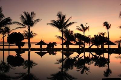 Panorama tipico dell'entroterra indonesiano