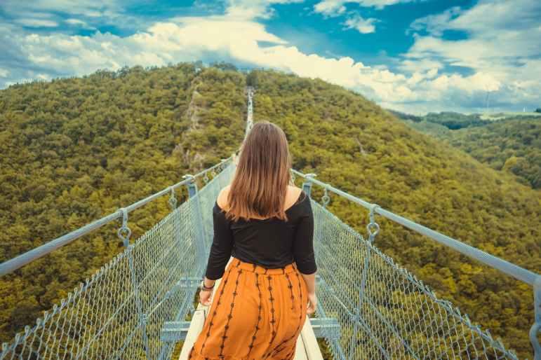 La spettacolare Canopy Walkway - Malesia