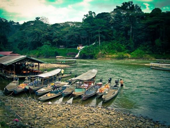 I fiumi del parco sono percorribili anche in canoa