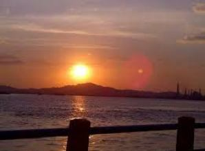 tramonto Sungai Mahakam