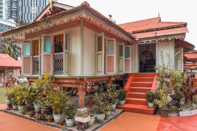 L'abitazione tradizionale a Villa Sentosa di Malacca