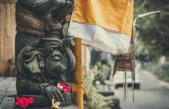 statua di ganesha - cultura balinese -indonesia