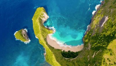 spiaggia nusa penida - indonesia