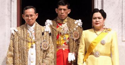 famiglia reale thailandese
