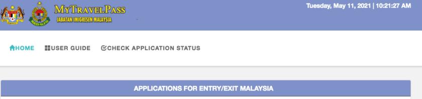 Travel Pass per la Malesia - Covid-19