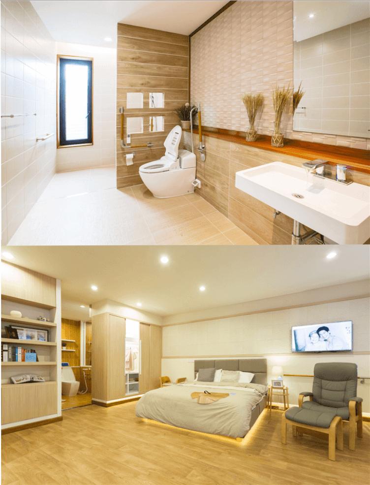 Bathroom & Bedroom SCG Eldercare Solution